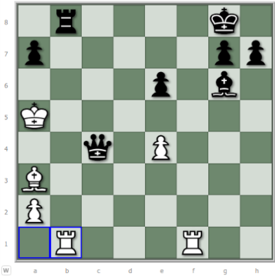 chess tactic training - distraction example 2
